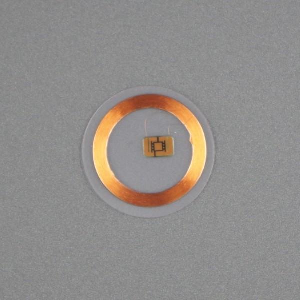 RFID clear disc tag