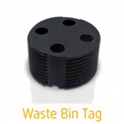 Bin tags for waste management