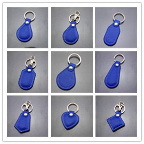 Good quality leather rid key fobs