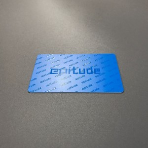 UV plastic cards