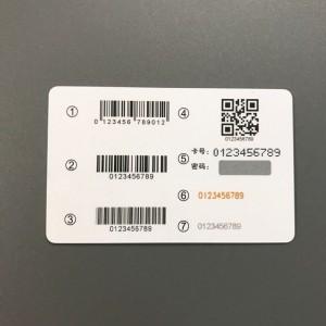 barcode PVC card