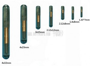 RFID glass tube
