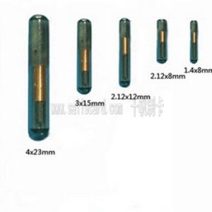 RFID glass tube